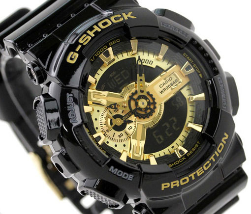 Мужские часы Casio GA-110RG-1A Женские часы Pierre Ricaud P51090.1221Q