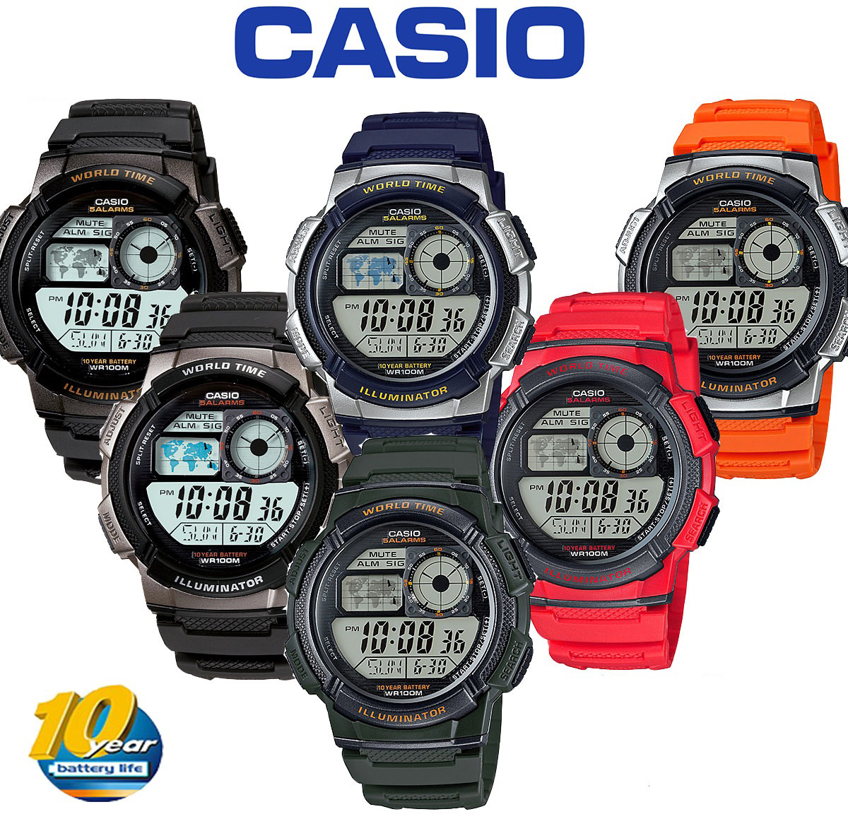 baby g casio watch instructions